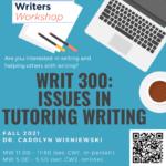 Flyer for WRIT 300