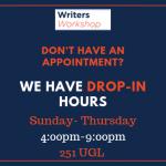 Drop-In Hours Image