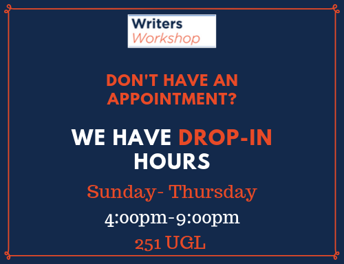 Drop-In Hours Image