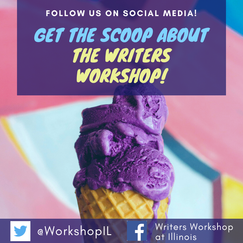 Flyer for Writers Workshop social media