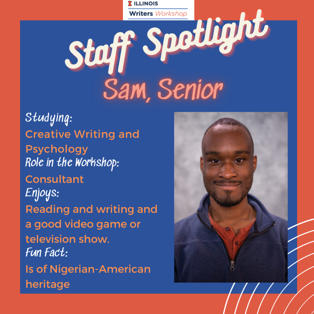 Staff Spotlight: Sam, Senior